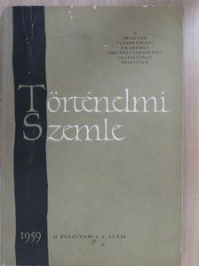 Benda Kálmán - Történelmi Szemle 1959/3-4. [antikvár]