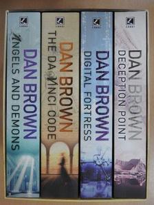 Dan Brown - Angels and Demons/The Da Vinci Code/Digital Fortress/Deception Point [antikvár]