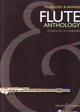 THE BOOSEY & HAWKES FLUTE ANTHOLOGY, 24 PIECES BY 16 COMPOSERS