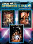 JOHN WILLIAMS - STAR WARS EPISODES I, II & III. INSTR.SOLOS; VIOLIN (REMOV. PART) / PIANO ACC.,LEVEL 2-3, CD INCL.