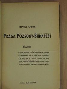 Kovács Endre - Prága-Pozsony-Budapest [antikvár]
