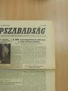 Arkus István - Népszabadság 1965. április 15. [antikvár]