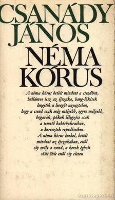 Csanády János - Néma kórus [antikvár]