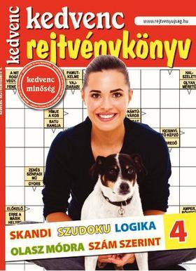 CSOSCH KIADÓ - Kedvenc Rejtvénykönyv 4.