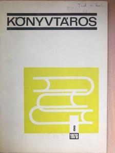Bozóky Éva - Könyvtáros 1976. augusztus [antikvár]