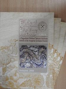 Benkó Zsolt - Földtani Közlöny 2008/1-4. [antikvár]