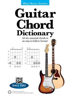 MMG: GUITAR CHORD DICTIONARY