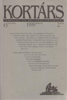 Kis Pintér Imre - Kortárs 1999/2. február [antikvár]