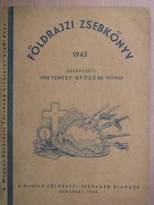 Dr. Bacsó Nándor - Földrajzi zsebkönyv 1943 [antikvár]