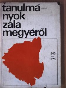 Dr. Béli József - Tanulmányok Zala megyéről 1945-1970 [antikvár]