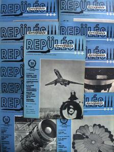 Hetés Tibor - Repülés-Űrrepülés 1973. (nem teljes évfolyam) [antikvár]