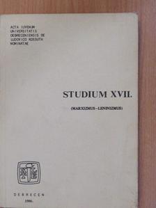 Fazekas István - Studium XVII. [antikvár]