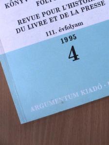 Bartók István - Magyar Könyvszemle 1995/4. [antikvár]