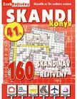 CSOSCH KIADÓ - ZsebRejtvény SKANDI Könyv 41.