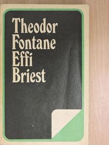 Theodor Fontane - Effi Briest [antikvár]