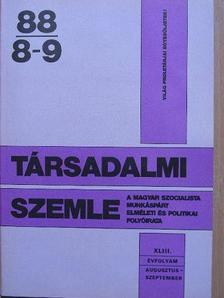Ádám Magda - Társadalmi Szemle 1988. augusztus-szeptember [antikvár]