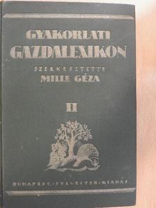 Bakó Gábor - Gyakorlati gazdalexikon II. (töredék) [antikvár]