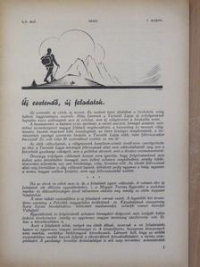 Baczoni Géza - Turisták Lapja 1940. januárius-december/A Magyar Turista Szövetség Hivatalos Értesítője 1940. január 15. [antikvár]
