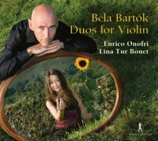 BARTÓK - DUOS FOR VIOLIN CD ONOFRI, BONET
