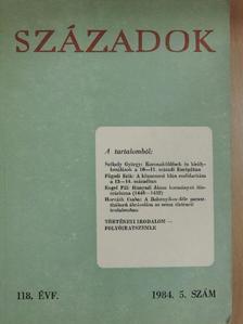 Dümmerth Dezső - Századok 1984/5. [antikvár]