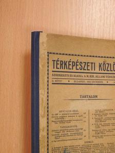 Csiszár Sándor - Térképészeti Közlöny 1933. december [antikvár]