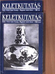 Berta Árpád - Keletkutatás 1988. tavasz-ősz [antikvár]