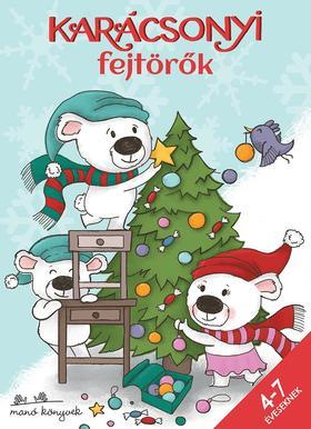 Korsós Szabina - Karácsonyi fejtörők 4-7 éveseknek