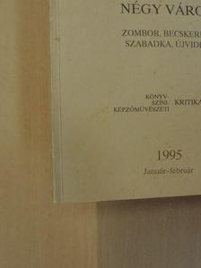 Béla Duránci - Híd 1995. január-február [antikvár]