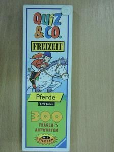Bernd Flessner - Quiz & Co. Freizeit - Pferde [antikvár]