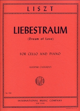 LISZT - LIEBESTRAUM (DREAM OF LOVE) FOR CELLO AND PIANO (GASPAR CASSADO)