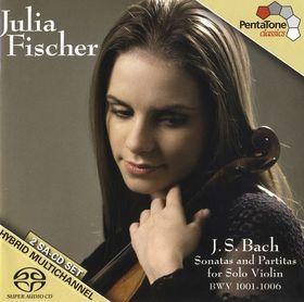 Bach - SONATAS & PARTITAS FOR VIOLIN BWV 1001-6 2SACD