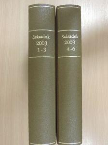 Bagi Dániel - Századok 2003/1-6. I-II. [antikvár]