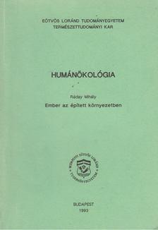 Ráday Mihály - Humánökológia [antikvár]