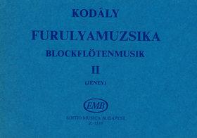 BARTÓK - FURULYAMUZSIKA II (JENEY) 2-3 FURULYA
