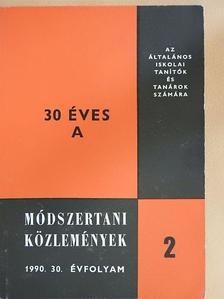Antal Ibolya - Módszertani közlemények 1990/2. [antikvár]