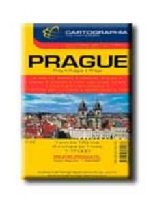 """Cartographia - PRÁGA VÁROSTÉRKÉP - CART. - 1:17.000 - """"SC"""" -"""