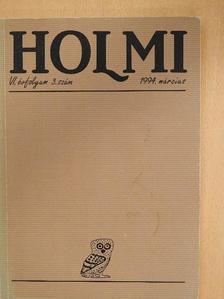 Bertók László - Holmi 1994. március [antikvár]
