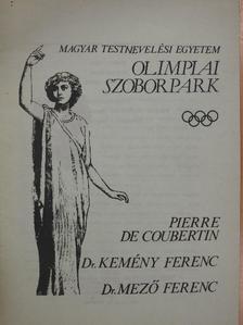Borbély Tibor - Olimpiai szoborpark [antikvár]