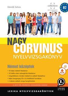 LX-0056-2 Dömők Szilvia - Nagy Corvinus nyelvvizsgakönyv - Német középfok