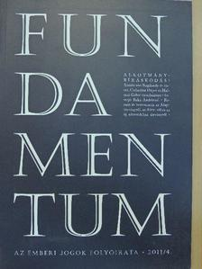 Armin von Bogdandy - Fundamentum 2011/4. [antikvár]