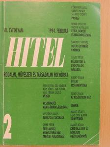 Ágh István - Hitel 1994. február [antikvár]