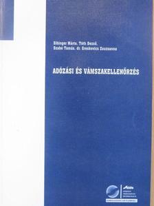 Dr. Greskovics Zsuzsanna - Adózási és vámszakellenőrzés [antikvár]