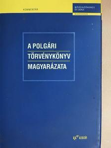 Benedek Károly - A polgári törvénykönyv magyarázata 2. (töredék) [antikvár]