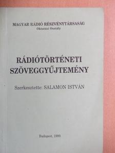 Bartók Béla - Rádiótörténeti szöveggyűjtemény [antikvár]
