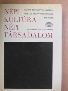 Barna Gábor - Népi kultúra - Népi társadalom XV. [antikvár]