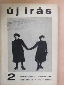 B. Nagy László - Új Írás 1967. február [antikvár]