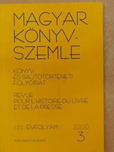 Ekler Péter - Magyar Könyvszemle 2006/3. [antikvár]