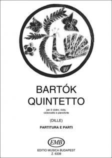 BARTÓK - QUINTETTO PER 2 VIOLINI, VIOLA, VIOLONCELLO E PIANO (DILLE)