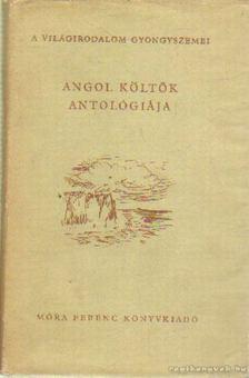 Vajda Miklós - Angol költők antológiája [antikvár]
