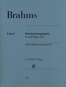 BRAHMS... - KLARINETTENQUINTETT h-MOLL OP.115, STIMMEN